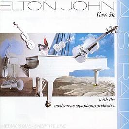 Live in Australia, CD