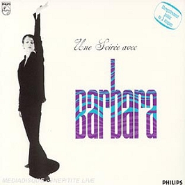 Une Soiree Avec Barbara (live), CD