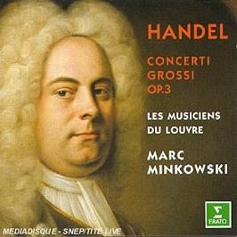 Concerti Grossi Op 3, CD