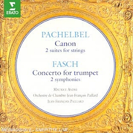 Canon;2 Suites For Strings;Concerto For Trumpet;2 Symphonies, CD