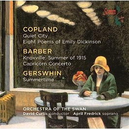 Quiet city, eight poems of Emily Dickinson, capricorn concerto, Knoxville: summer of 1915, summertim, CD