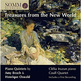 Treasures from the new world - Piano quintets, CD