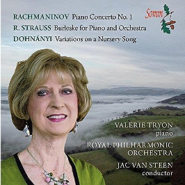 Piano concerto - burlesque - variations on a nursery song, CD