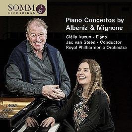 Piano concertos by Albeniz & Mignone, CD