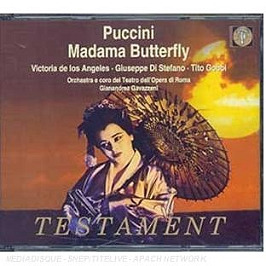Madame Butterfly, CD