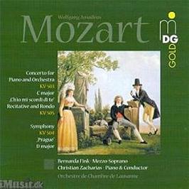 Concerto kv 503 / symphony kv 504 / aria kv 505, Dvd Musical