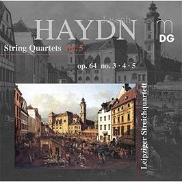 Integrale des quatuors, vol.5 : quatuors op.64, n°3-5, CD