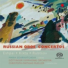 Concertos russes pour hautbois, SACD