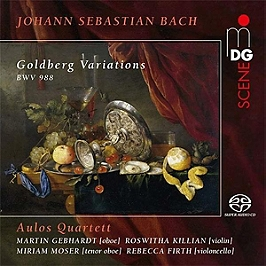Les variations Goldberg, SACD