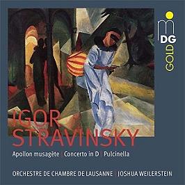 Apollon musagète, concerto in D, Pulcinella, SACD