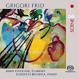 Clarinet sonatas, SACD