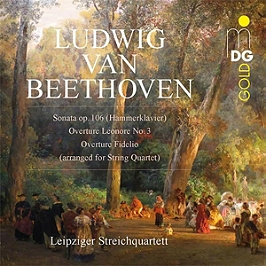 Sonata op 106 - Overture Leonore - Fidelio - For string quartet, CD