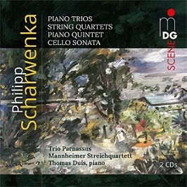 Piano trios - Sting quartets - Piano quintet - Cello sonata, CD