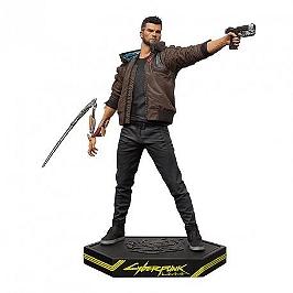 Cyberpunk 2077 male V figurine
