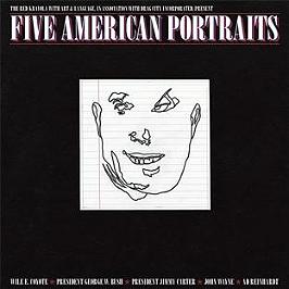 Five American portraits, Vinyle 33T