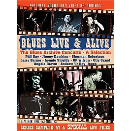 Blues live & alive - The blues archives concerts - A selection, Dvd Musical