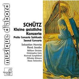 Petits concerts spirituels (Kleine Geistliche Konzerte), CD Digipack