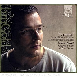 Kantate : cantates baroques allemandes, CD Digipack