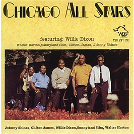 Chicago All Stars featuring Willie Dixon, CD