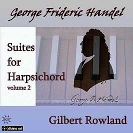 Suites for harpsichord /vol.2, CD