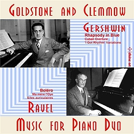 Music for piano duo, CD