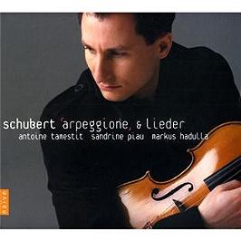 Schubert: Arpeggione & Lieder. Sonate