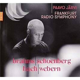 Brahms, Schoenberg, Bach, Webern, CD Digipack
