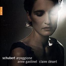 Schubert par Anne Gastinel, CD Digipack