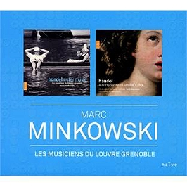 Marc Minkowski les musiciens du Louvre Grenoble, CD