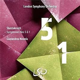 Shostakovich symphonies Nos. 5 & 1, SACD