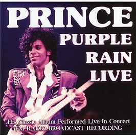 Purple rain live radio broadcast 1984-1998, CD