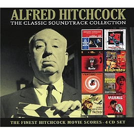 Alfred Hitchcock the classic soundtrack collection, CD + Box