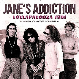 Lollapalooza radio broadcast Washington DC 1991, CD