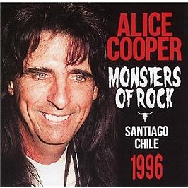 Monsters of rock radio broadcast Santiago Chile 1995, CD