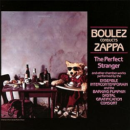 Boulez conducts Zappa, CD