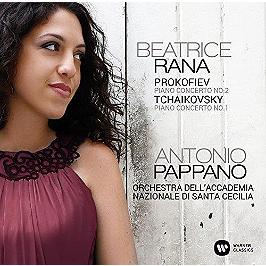Piano concertos, CD