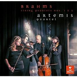 Brahms:quatuors n° 1 & 3, CD