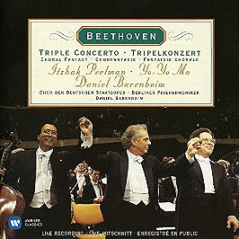 Triple concerto, CD Digipack
