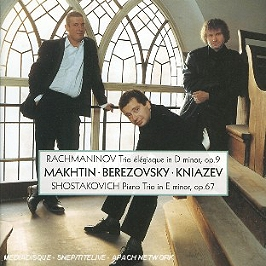 Trio elégiaque opus 9, trio avec piano opus 67, CD
