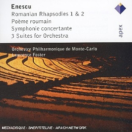 Rapsodies Roumaines n°1 & n°2, poème roumain, symphonie concertante,3 Suites, CD