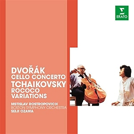 Dvorak : concerto pour violoncelle - Tchaikovski : variations rococo, CD