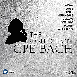 CPE Bach : the collection, CD + Box