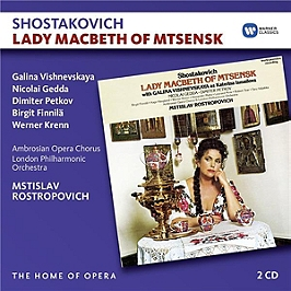 Lady Macbeth of Mtsensk, CD