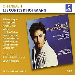 Les contes d'Hoffmann, CD + Box