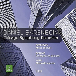 Chicago symph/mass and requiem, CD