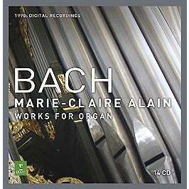 Bach:oeuvres complete pour orgue, CD