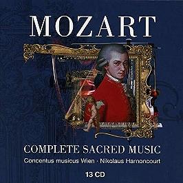 Mozart:complete sacred music, CD