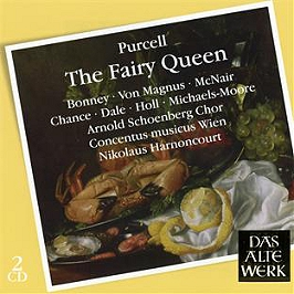Purcell : the fairy queen, CD