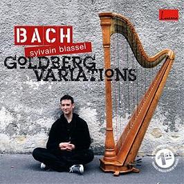 Variations Goldberg (pour harpe), CD