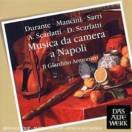 Musica da camera a Napoli, CD